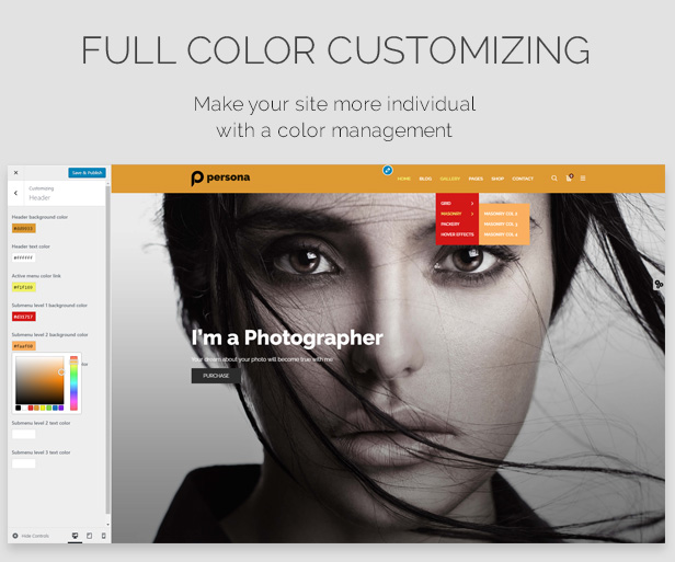Photography Persona | Photography WordPress for Photography - 7