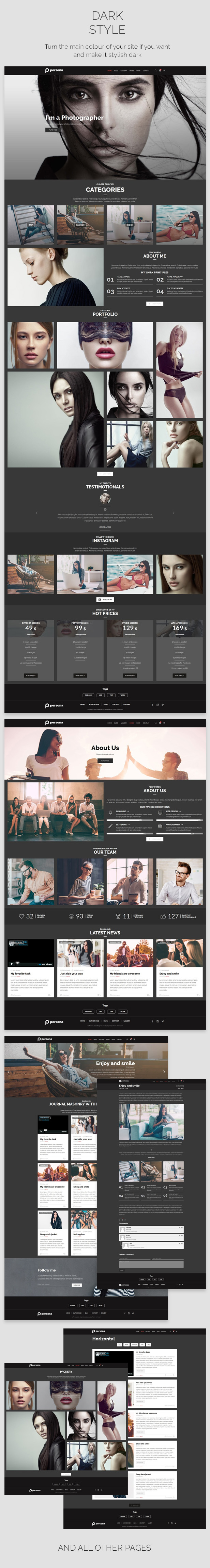 Photography Persona | Photography WordPress for Photography - 6