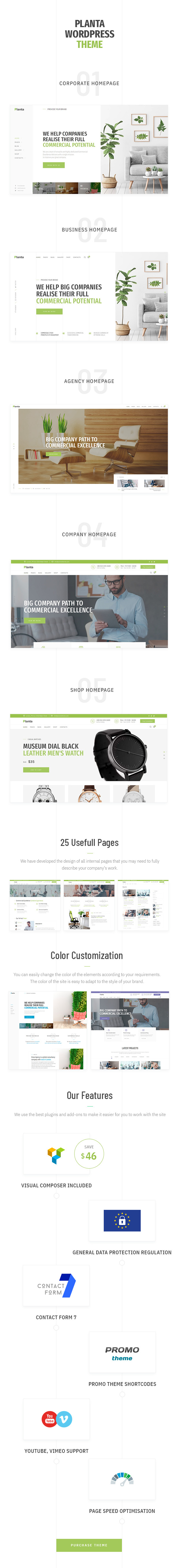 Planta Business | A Contemporary Business WordPress for Business - 5