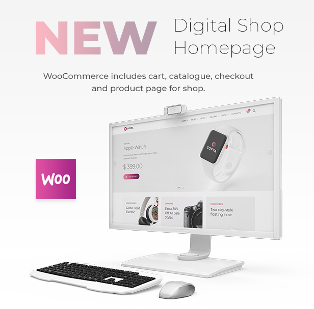 Softa - SaaS, Software & WebApp WordPress - 4