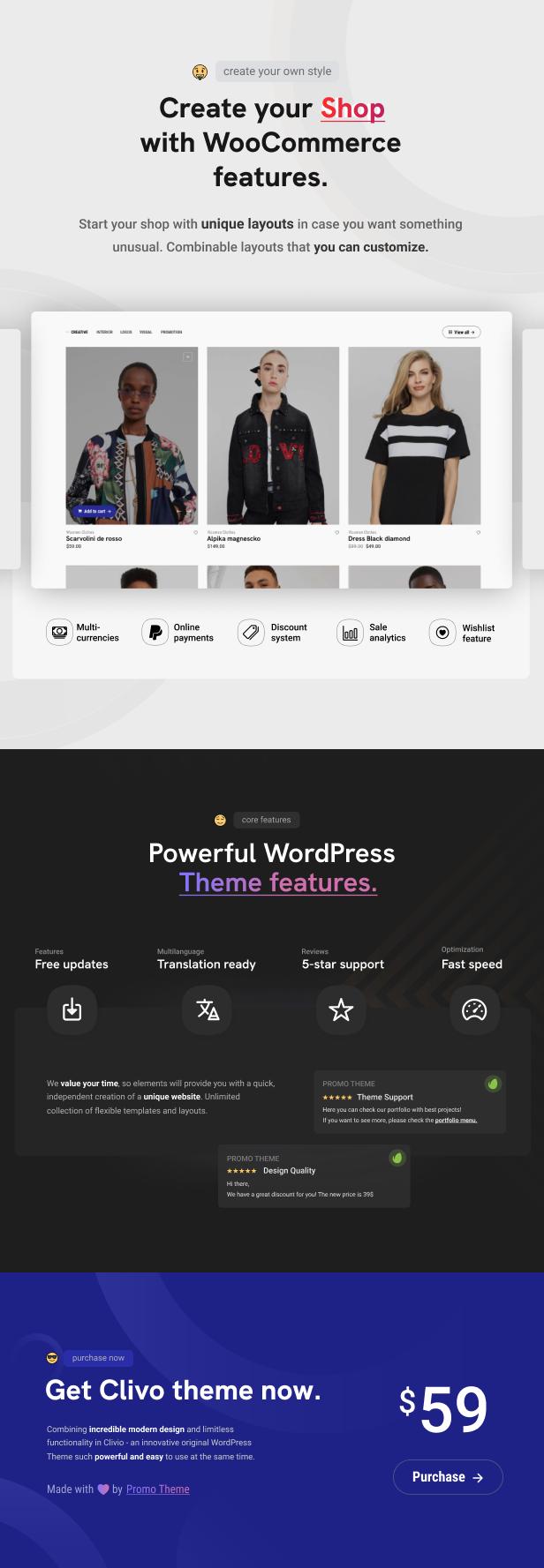 Clivo - Portfolio & Agency WordPress Theme - 11
