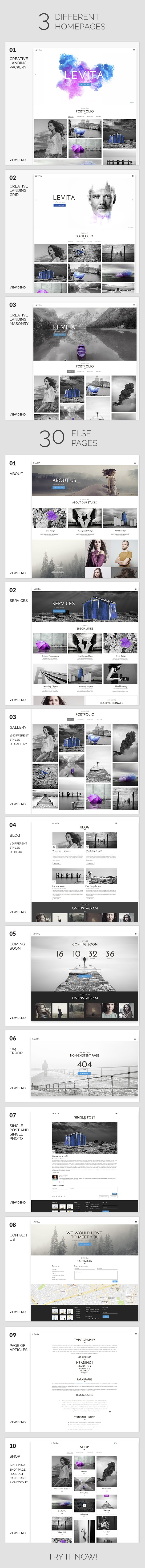Fotografía | Levita Photography WordPress para fotografía - 6